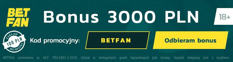 polski bukmacher betfan bonusy promocje