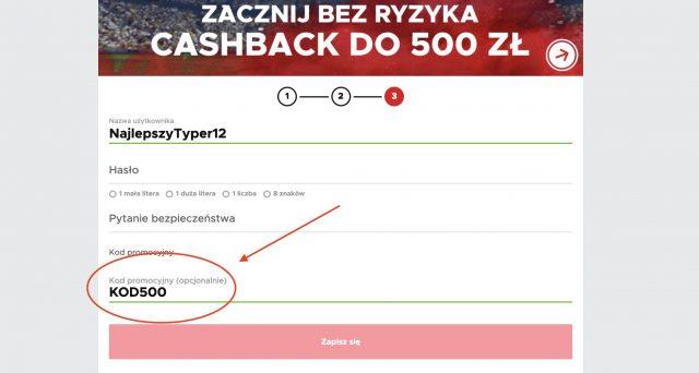 Betclic bonus powitalny. Aktualna premia 500 PLN - kod promocyjny